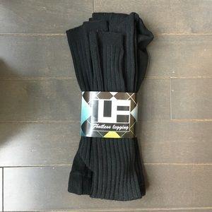 LF Footless Leggings in Black